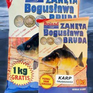 Zanęta BOLAND Popularna Karp Truskawka 1 kg
