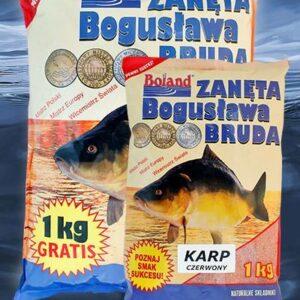 Zanęta BOLAND Popularna Karp Czerwony Wanilia 1 kg