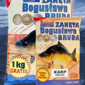 Zanęta BOLAND Popularna Karp Robin Red Korzenny 1 kg