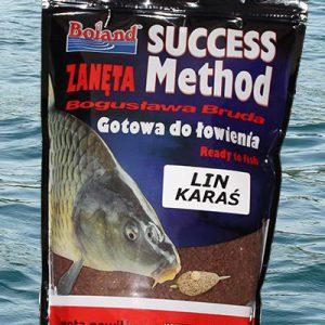 Zanęta BOLAND Success Method Lin,Karaś 750g