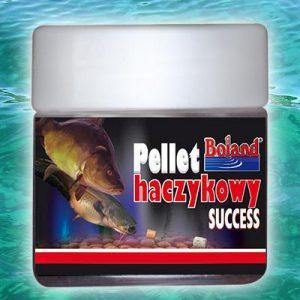 Pellet BOLAND Halibut red z dziurką 14mm 150g