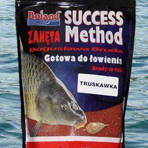 Zanęta BOLAND Success Method Truskawka 750g