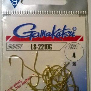 Haczyki GAMAKATSU LS-2210 G 25 szt