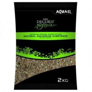 Piasek kwarcowy AQUAEL Natural Aquarium Substrate  2kg