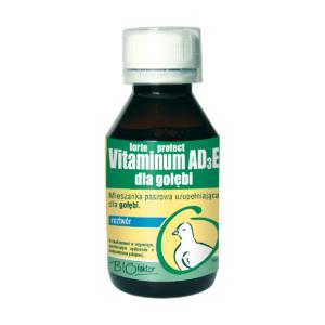 BIOFAKTOR Vitaminum AD3E Protect dla gołębi 100 ml