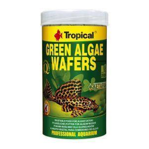 Pokarm dla glonojada TROPICAL Green Algae Wafers 100 ml