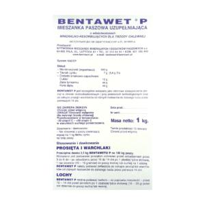 Preparat na biegunkę prosiąt BENTAWET P 1 kg