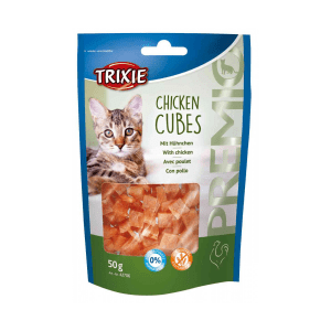 Przekąska dla kota TRIXIE CHICKEN CUBES z kurczakiem 50g