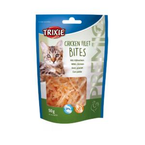 Przekąska dla kota TRIXIE CHICKEN FILET BITES z kurczakiem 50g