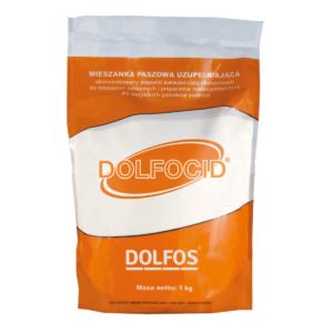 Zakwaszacz do pasz i preparatów mlekozastępczych DOLFOS Dolfocid 1 kg