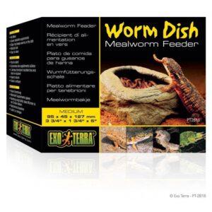 Miska dla gadów na robaki EXO TERRA Wrom dish