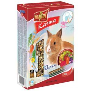 Karma pełnoporcjowa dla młodych królików VITAPOL Junior 400g