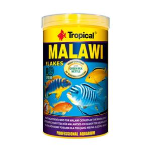 Pokarm dla pielęgnic mbuna z jeziora Malawi TROPICAL Malawi Flakes 100 ml