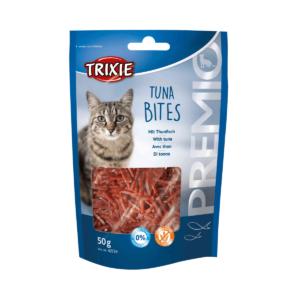 Przekąska dla kota TRIXIE CHICKEN CUBES TUNA BITES z tuńczykiem 50g
