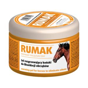 Żel rozgrzewający koński do likwidacji obrzęków VETOS-FARMA Rumak 500 g