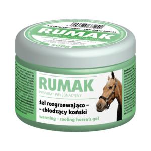 Żel rozgrzewająco-chłodzący koński VETOS-FARMA Rumak 500 g