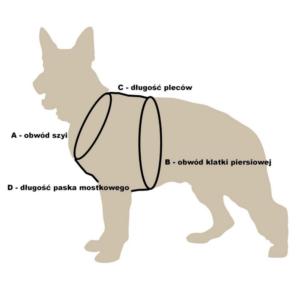 Szelki dla psa DINGO FRED REFLEX