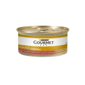 Karma mokra dla kota PURINA GOURMET  Gold Casserole z kaczką i indykiem 85g