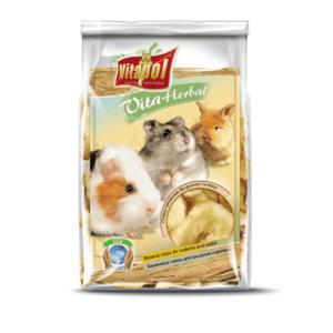 Chipsy bananowe VITAPOL Vita Herbal dla gryzoni i królików 150g