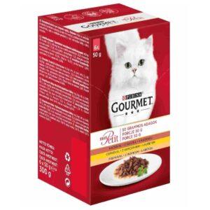 Karma mokra dla kota PURINA GOURMET Mon petit – Kolekcja drobiowych filecików 6szt/op
