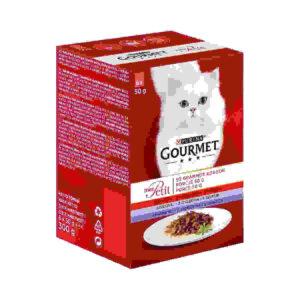 Karma mokra dla kota PURINA GOURMET Mon petit – Kolekcja mięsnych filecików 6szt/op
