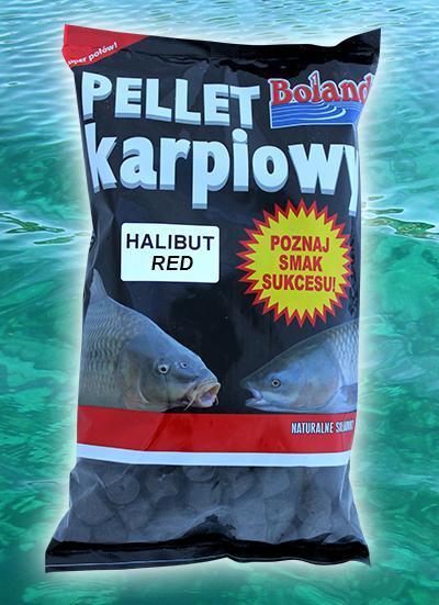 pellet karpiowy HALIBUT RED