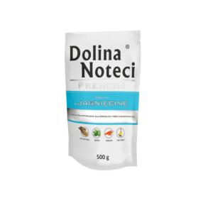 Karma mokra dla psa DOLINA NOTECI Premium bogata w jagnięcinę 500 g