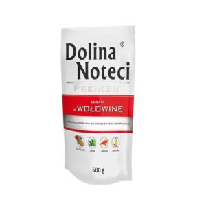 Karma mokra dla psa DOLINA NOTECI Premium bogata w wołowinę 500 g