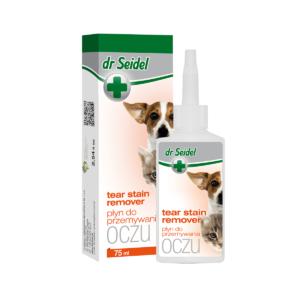 Płyn do przemywania  oczu dla psa i kota DR SEIDEL  75 ml