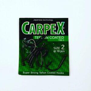 Haczyki CARPEX Teflon Coated TSS5 rozm. 2/10 szt