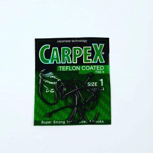 Haczyki CARPEX Teflon Coated TSS5 rozm. 1/10 szt
