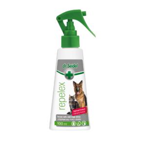 Preparat utrzymujący psy i koty z daleka DR SEIDEL Repelex 100 ml