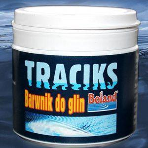 Barwnik do gliny lub zanęty BOLAND Traciks czerwony 100 g