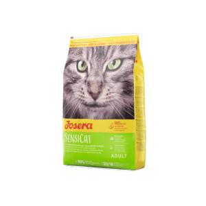 Karma sucha dla kota JOSERA Sensicat Łosoś z kurczakiem 10 kg