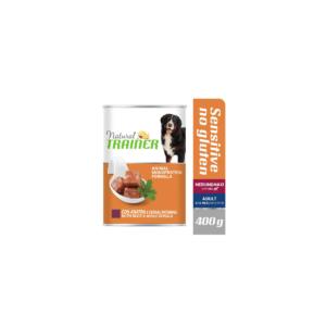 Karma mokra dla psa TRAINER Sensitive Kaczka 400 g