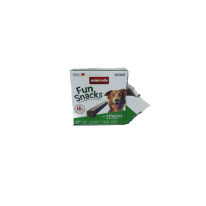 Naturalne gryzaki  dla psa ANIMONDA Fun Snacks Struś 20 szt/op