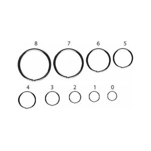 Kółka łącznikowe JAXON size 10 10szt/op