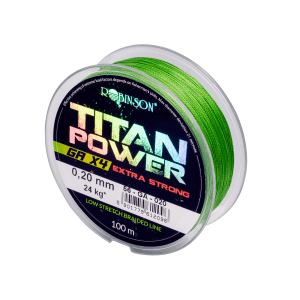 Plecionka ROBINSON Titan Power GA X4 0,10 mm 8 kg 150m