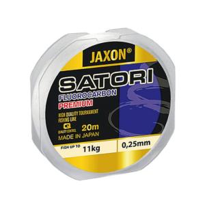 Żyłka fluocarbonowa JAXON Satori premium 0,18 mm 6 kg 20 m