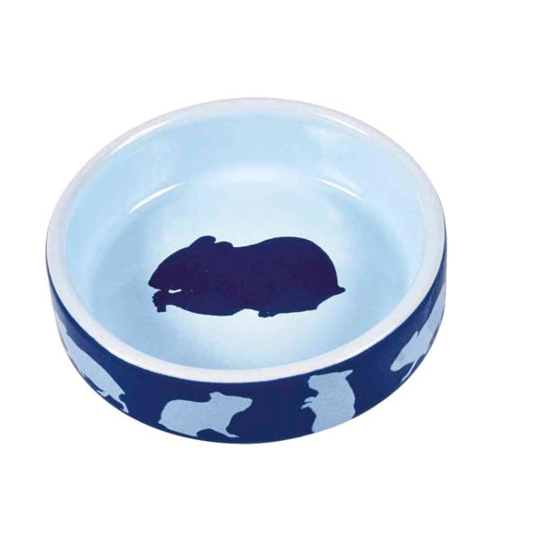 Miska-ceramiczna-dla-gryzoni-250ml-brązowa