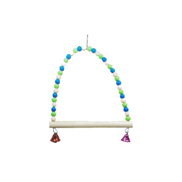 huśtawka-z-dzwoneczkami-drewnianaa