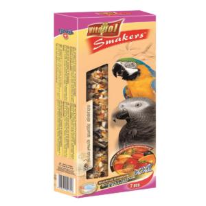 Smakers dla dużych papug VITAPOL Orzechowo – owocowy XXL 2 szt/op.
