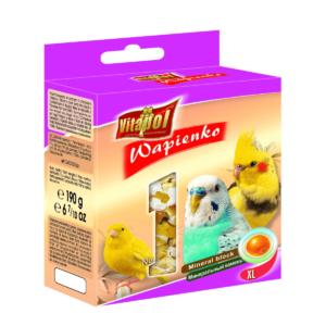 Wapienko dla ptaków VITAPOL Pomarańczowe XL