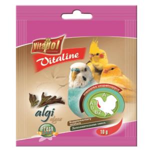 Witaminki dla papużki falistej i kanarka VITAPOL Algi 10 g