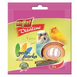 Witaminki dla papużki falistej i kanarka VITAPOL Gęste piórka 20 g