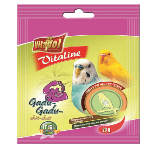 Witaminki dla papużki falistej i kanarka VITAPOL Gadu gadu 20 g