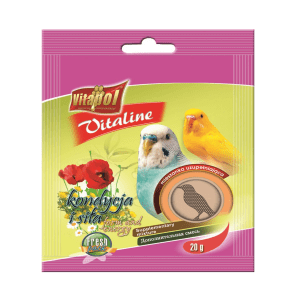Witaminki dla papużki falistej i kanarka VITAPOL 20 g