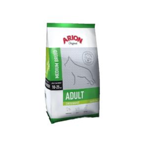 Karma dla dorosłego psa średniej rasy ARION Z kurczakiem i ryżem 12 kg