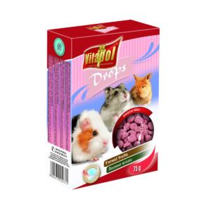 Dropsy dla królików i gryzoni VITAPOL Owoce lasu 75 g