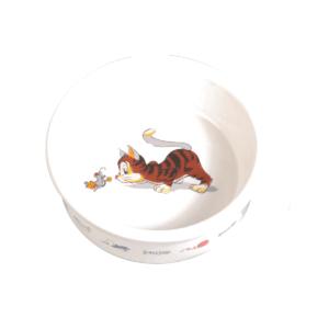Miska ceramiczna dla kota TRXIE 0,2 l/ø 12 cm